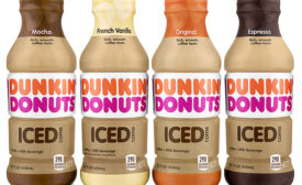 Dunkin Donuts RTD coffee