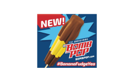 Wells banana fudge pop