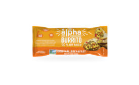 Alpha Foods Breakfast Veggie Burrito