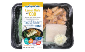 AquaStar MicroSteam Meals LemonHerb Cod