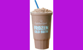 Cumberland Farms mocha frozen cold brew