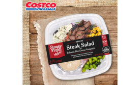 FiveStar Gourmet steak salad