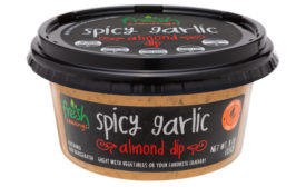 Fresh Cravings Spicy Garlic Almond plant-based dip