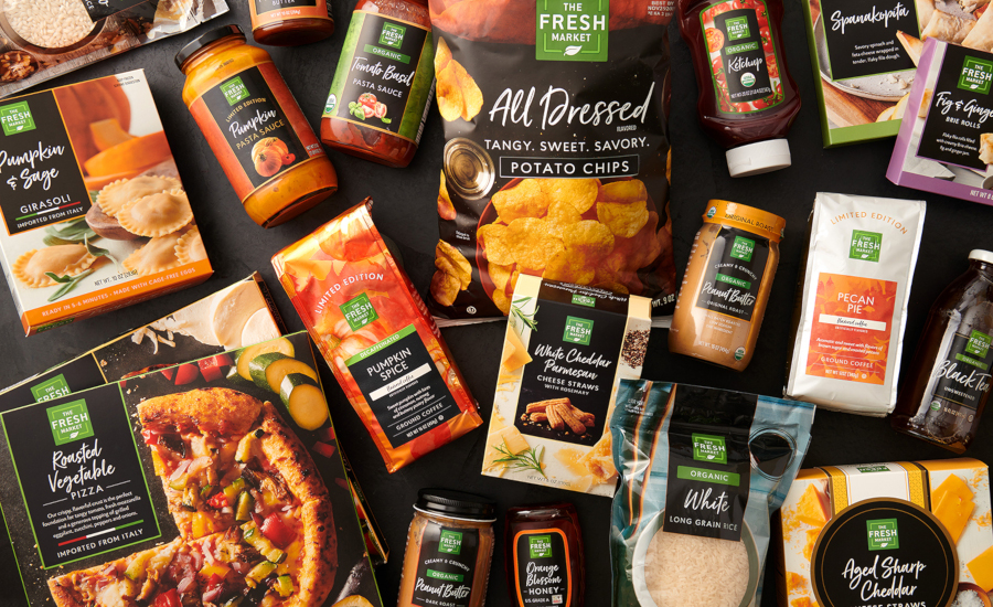 The Fresh Market rolls out new private label items, new private label packaging