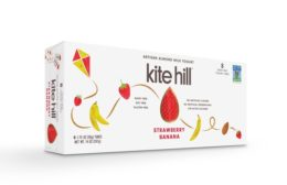 Kite Hill strawberry almond yogurt