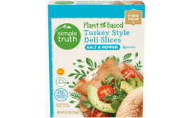 Kroger Simple Truth Plant Based Turkey Slices