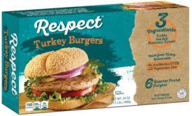 Respect ABF Turkey Burger