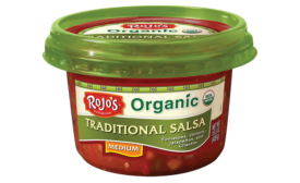 Rojo's organic salsa