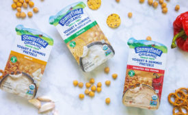 Stonyfield snack packs savory