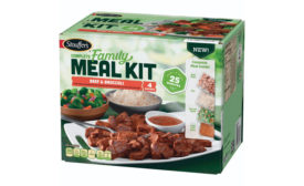 Stouffers Complete Family Meal Kit Beef and Broccoli
