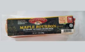 Wellshire Farms Maple Bourbon Bacon