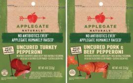 Applegate uncured pepperoni
