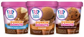 Baskin Robbins Dunkin Donuts ice cream