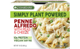 Cedarlane Foods Plant-Based Penne Alfredo with Peas & Cheeze