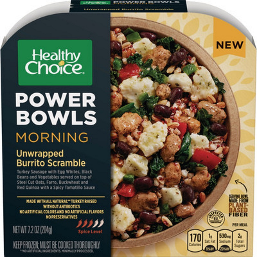 Healthy Choice Power Bowls now include
