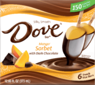DOVE Mango Sorbet Bar