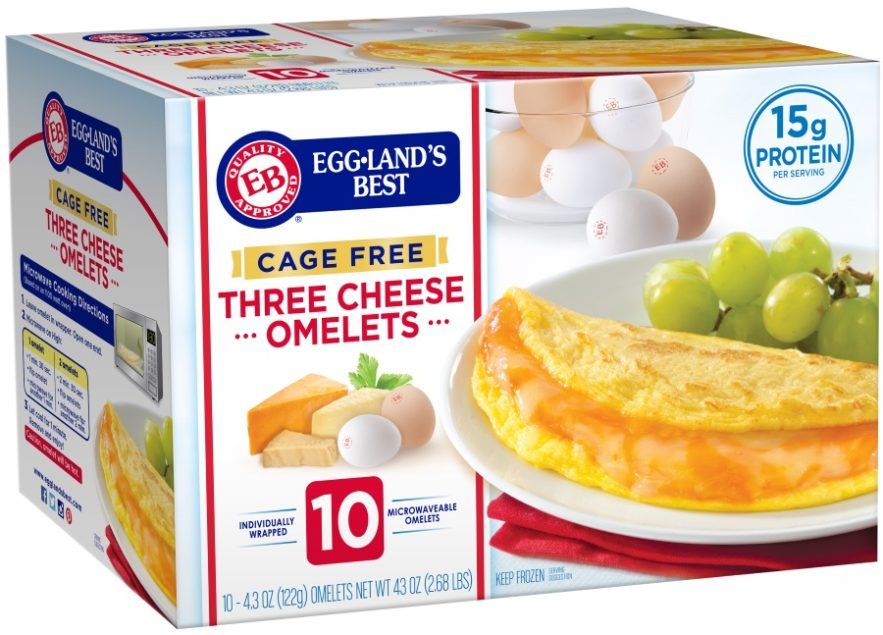 Cage Free Omelets 2018 02 05 Refrigerated Frozen Food