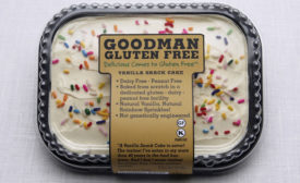 Goodman Food Vanilla Snack Cake
