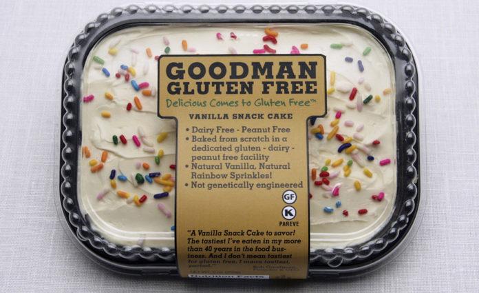 Frozen gluten-free snack cake | 2017-12-06 | Refrigerated Frozen Food