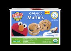 Hain Celestial Earth's Best Sesame Street Organic Apple Blueberry Muffins