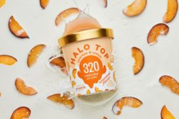 Halo Top Peaches & Cream