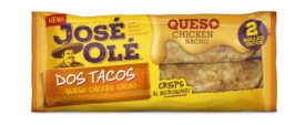 Jose Ole rolled tacos
