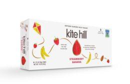 Kite Hill strawberry almond yogurt