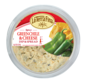 La Terra Fina green chile spread