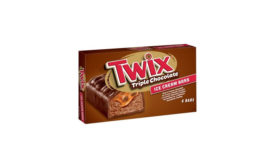 Mars Twix ice cream bars
