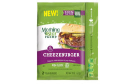 MorningStar cheezeburger