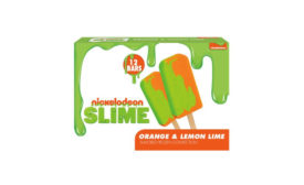 Nickelodeon green slime frozen treats