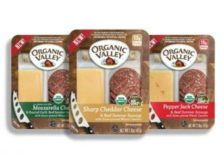 Organic Valley meat cheese snack