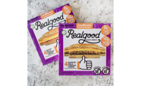 Real Good Foods low carb breakfast sandwiches