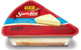 Sara Lee Classic Cheesecake Slices feature
