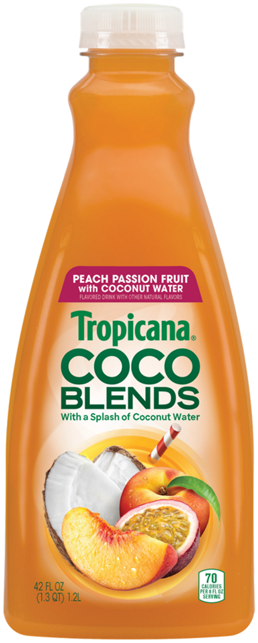 Tropicana CocoBlends PeachPassionFruit