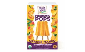 Uncle Matt's Organic probiotic pops Orange Mango