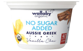 Wallaby Organic no sugar added yogurt