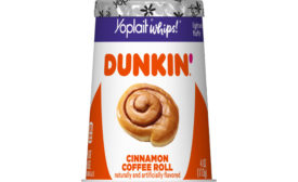 Yoplait Cinnamon Coffee Roll yogurt