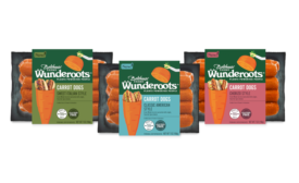Vegan Carrot Hot Dogs Wunderoots Bolthouse Farms