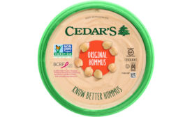 Cedar's Hummus Dips Snacks Hommus Breast Cancer Research Foundation