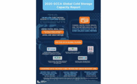 Global Cold Storage Capacity GCCA Infographic