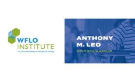 Anthony Leo Scholarship RLS Logistics GCCA