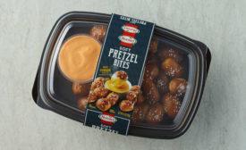 Soft Pretzel Bites Cheese Snack Deli Tray Hormel