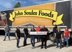 John Soules Foods Donations Employees