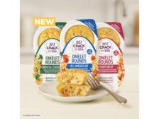Omelet Mini Rounds Microwave Snacks Just Crack an Egg Kraft Heinz