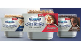 Kraft Philly Cream Cheese Cheesecake Crumbles Single Serve Desserts