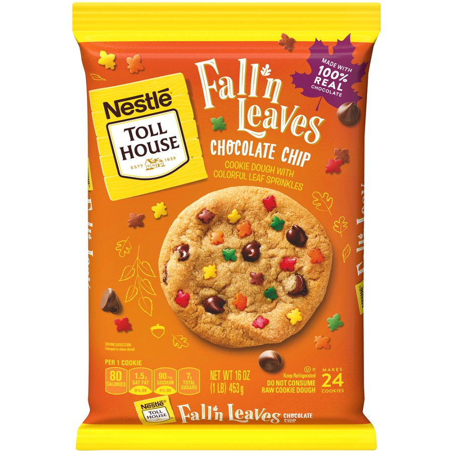 Nestle Brings Back Toll House Halloween And Fall Themed Cookie Dough 2020 08 11 Refrigerated Frozen Foods