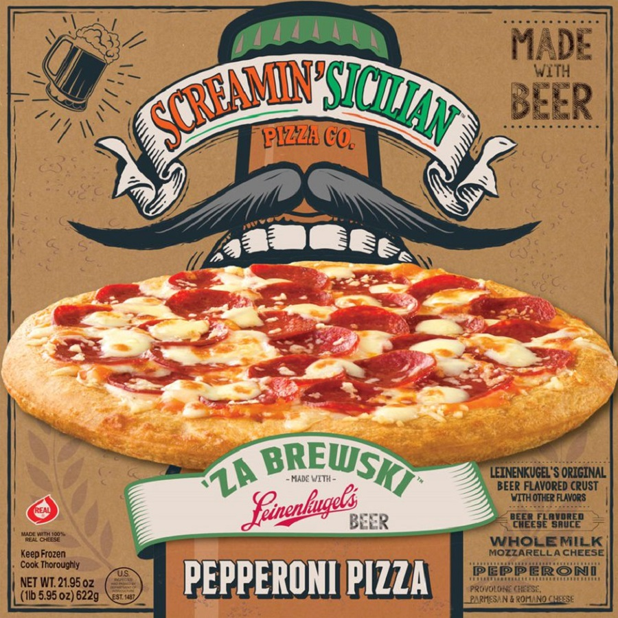 Palermo's Screamin' Sicilian Leinenkugel Beer Pizza