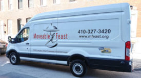 Moveable Feast Maryland Meal Delivery Perdue Farms Donation