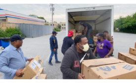 Kingdom Worship Center Baltimore Hunger Relief Perdue Chicken Donation